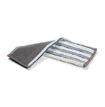Numatic velcro mop micro/nylon grijs-blauw