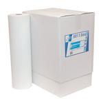 Euro onderzoektafelpapier wit geperforeerd  5x150 meter 50 cm breed