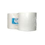 Euro industriepapier wit 2 laags 2x350 meter 1000 vel