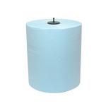 Euro matic handdoekrol 2 laags blauw 6 x 150 meter
