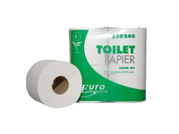 Toiletpapier 2lgs recycled wit 40x400vel *** o/s