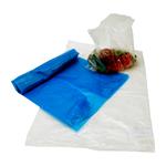 Afvalzak LDPE transparant 60 x 40 cm los
