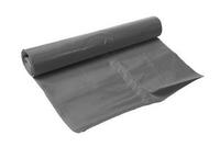 Afvalzak LDPE 50 my  trekband grijs 65x80 cm 20 rollen