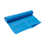 Afvalzak LDPE 70x110cm blauw 100my  100st
