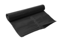 Afvalzak HDPE 80x100 cm zwart 250 my 300 stuks