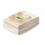 Biodore bord rechthoekig palmblad 25 x 16 cm