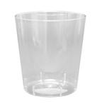 Plastic limonadeglas / wijnglas zonder voet 200 cc