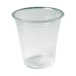 Plastic drink- wijnbeker 70.3 mm 150 cc helder