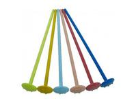 Plastic tonicstamper gekleurd