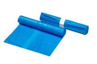 Afvalzak HDPE 90 x 120 cm blauw T35