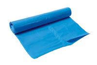 Afvalzak 80x110 cm blauw 1 rol 20 stuks