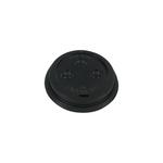 Deksel 70.3mm +drinkgat voor hotcup zwart streng 50 stuks