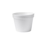 Schuimpot 73 mm 118 ml wit