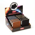 Atomic cigarette case alcantara