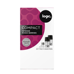 Logic pods intense mixed berries 18mg 2 stuks