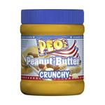 Peo peanut butter crunchy 340 gr