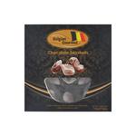 Belgian seashells zwart 195gr. a12