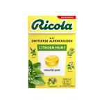 Ricola lemon mint suikervrij doosje 50 gr
