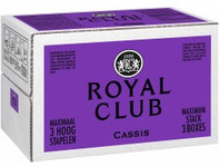 Royal Club cassis regular postmix 10 liter
