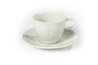 Fair cup cappuccino kop 275 ml met schotel