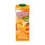 Appelsientje DubbelDrank sinaasappel abrikoos pak 1 liter