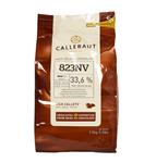 Callebaut druppels melk 2.5 kilo