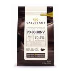 Callebaut druppels strong 70% puur 2.5 kilo