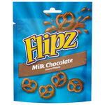 Flipz milk chocolate covered pretzels zakje 100 gr