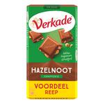 Verkade tablet hazelnoot/melk xxl 192 gr