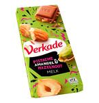 Verkade tablet pistache amandel hazelnoot 111 gr