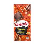 Verkade tablet puur karamel pecan kaneel 111 gr