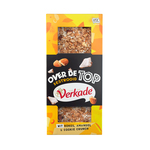 Verkade over de top wit kokos amandel & cookie crunch 120 gr