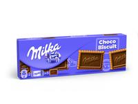 Milka choco biscuit melk 150 gr