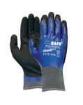 M-safe handschoenen full-nitrile 14-650 maat 10