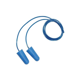 M-safe oordop blauw detectable met koord