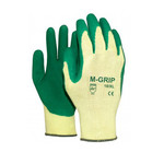 Handschoen M safe gold grip winter 144 paar
