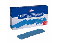 Detecteerbare pleister blauw 19x72 mm 100 stuks