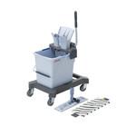 Vileda ultraspeed pro starterkit 25 liter met plaat en mop