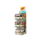 Bic animals 3-level display a150