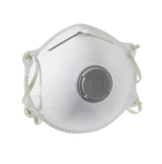 Mondmasker FFP2 cupvormig.uitademventiel 10 stuks