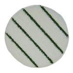 Bonnetpad wit 16 inch  tbv vloerbedekking