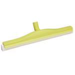 Vikan vloertrekker geel 60cm draaibaar