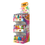 Bic j26 pop of colours 3-level display