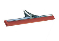 BWV vloertrekker metaal rood rubber 55 cm