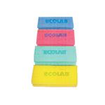 Ecolab polifix schuurspons groene spons witte pad 7.5 cm x 14 cm
