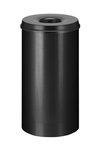 Papierbak vlamdovend zwart 50 liter
