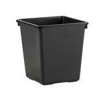 Papierbak zwart 34x34x36  27 liter