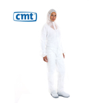 CMT coverall wit XL met ritssluiting
