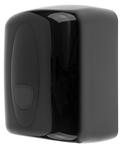 PlastiQline midi poetsroldispenser zwart kunsstof