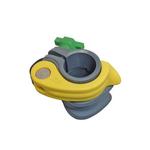 Unger nlite  26mm klem compleet geel no slangclip